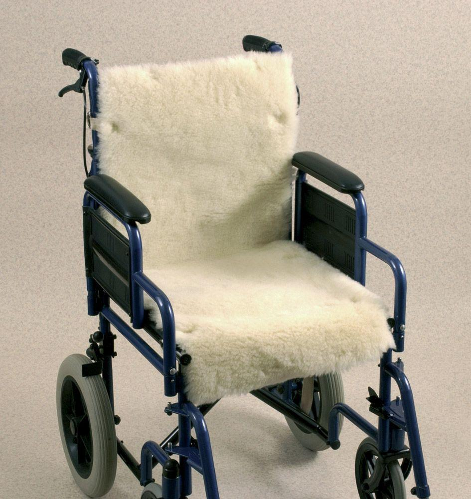 Wheelchair Seat And Back Cover