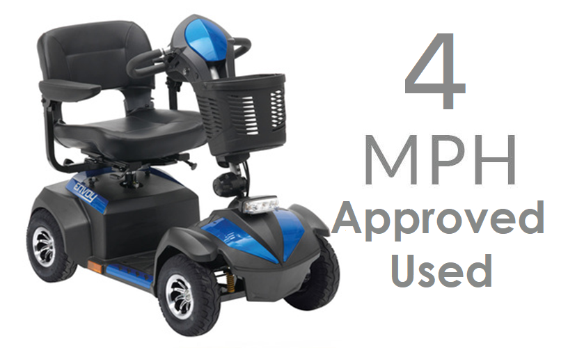 Mobility Scooters - Used 4mph