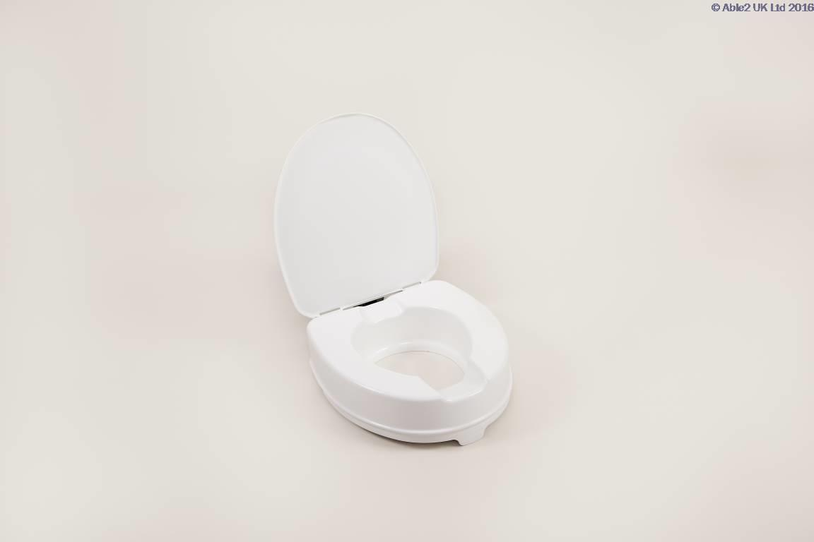 Atlantis Raised Toilet Seat