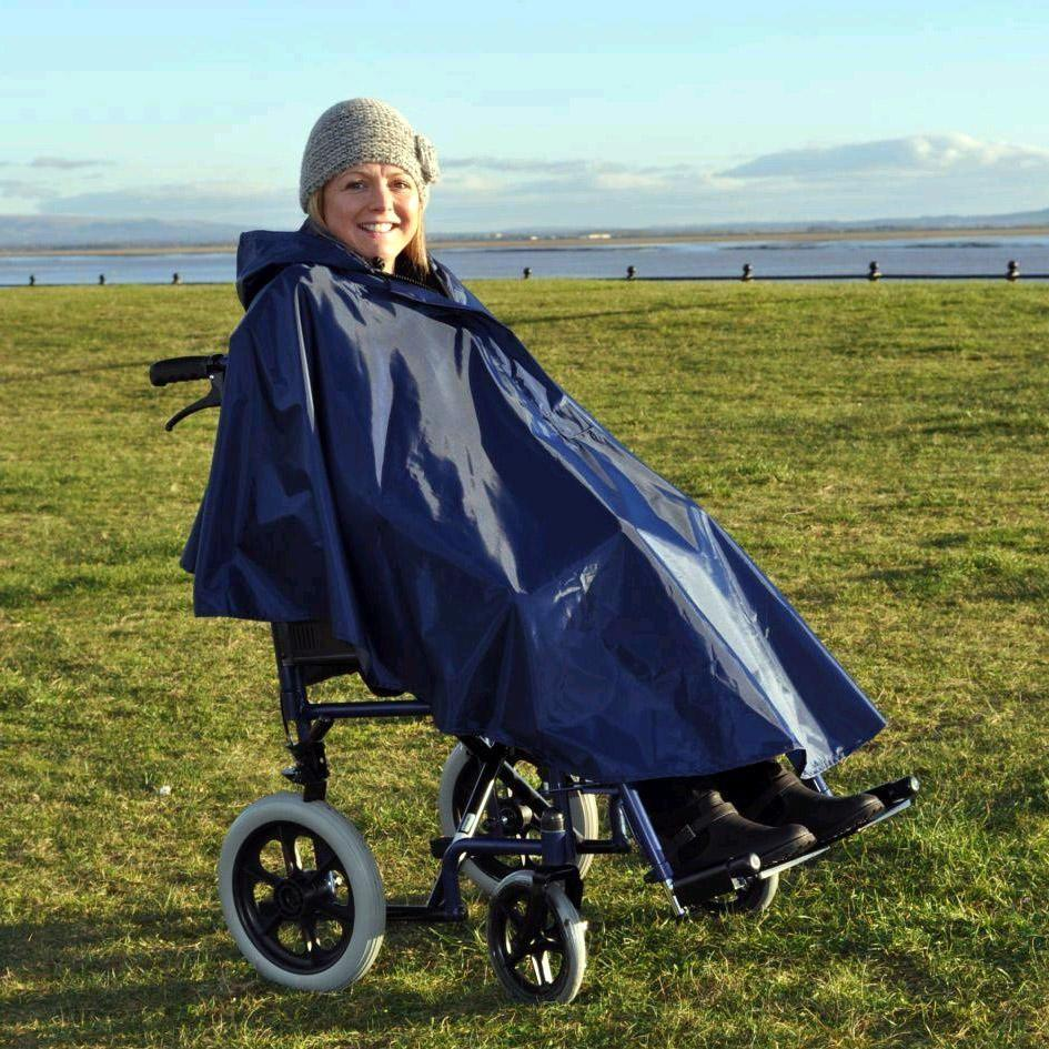 Wheelchair Poncho Unlined