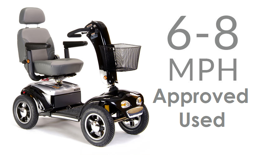Mobility Scooters - Used 6-8mph