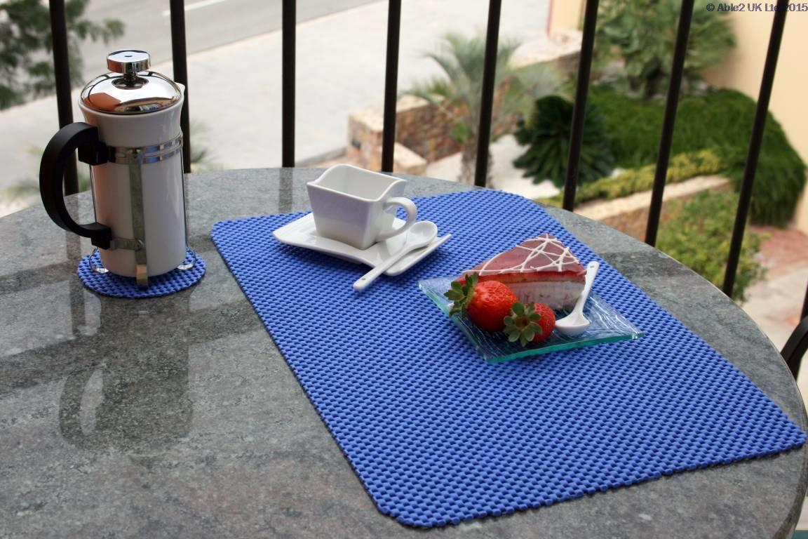 Stayput Non Slip Tablemat X4 And Coaster X4 Set