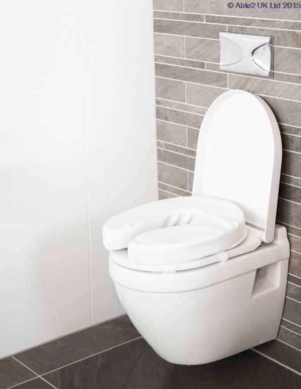 Atlantis Padded Raised Toilet Seat