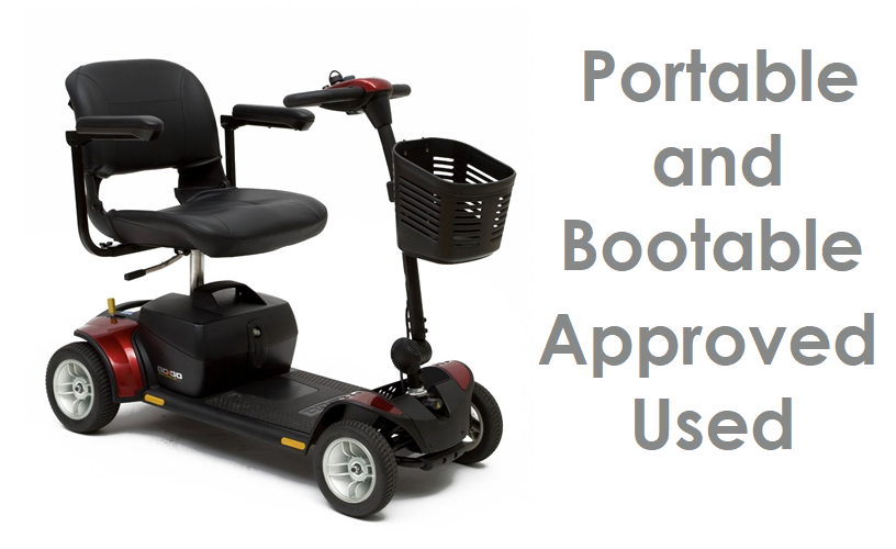 Mobility Scooters - Used Portable & Bootable