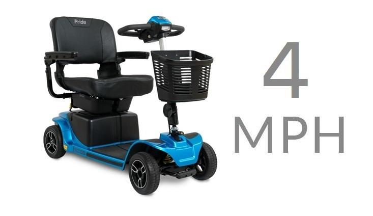 Mobility Scooters - 4mph Pavement