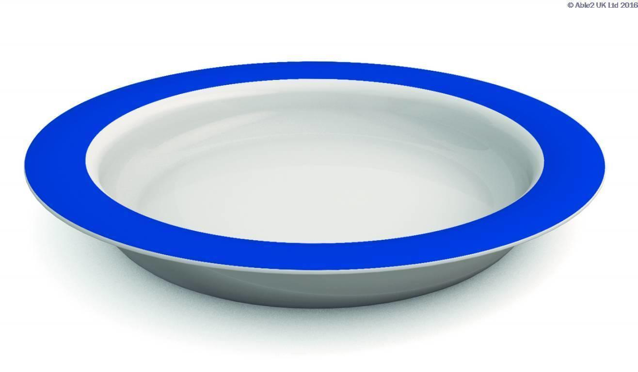 Ornamin Plate With Sloped Base 26Cm
