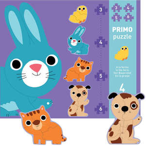 Down on the farm primo puzzle by Djeco