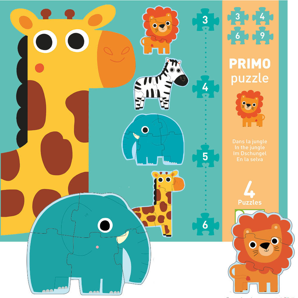 In the jungle primo puzzle by Djeco
