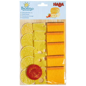 Play food cheese slices by Haba