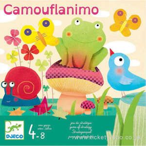 Camouflanimo strategy game by Djeco