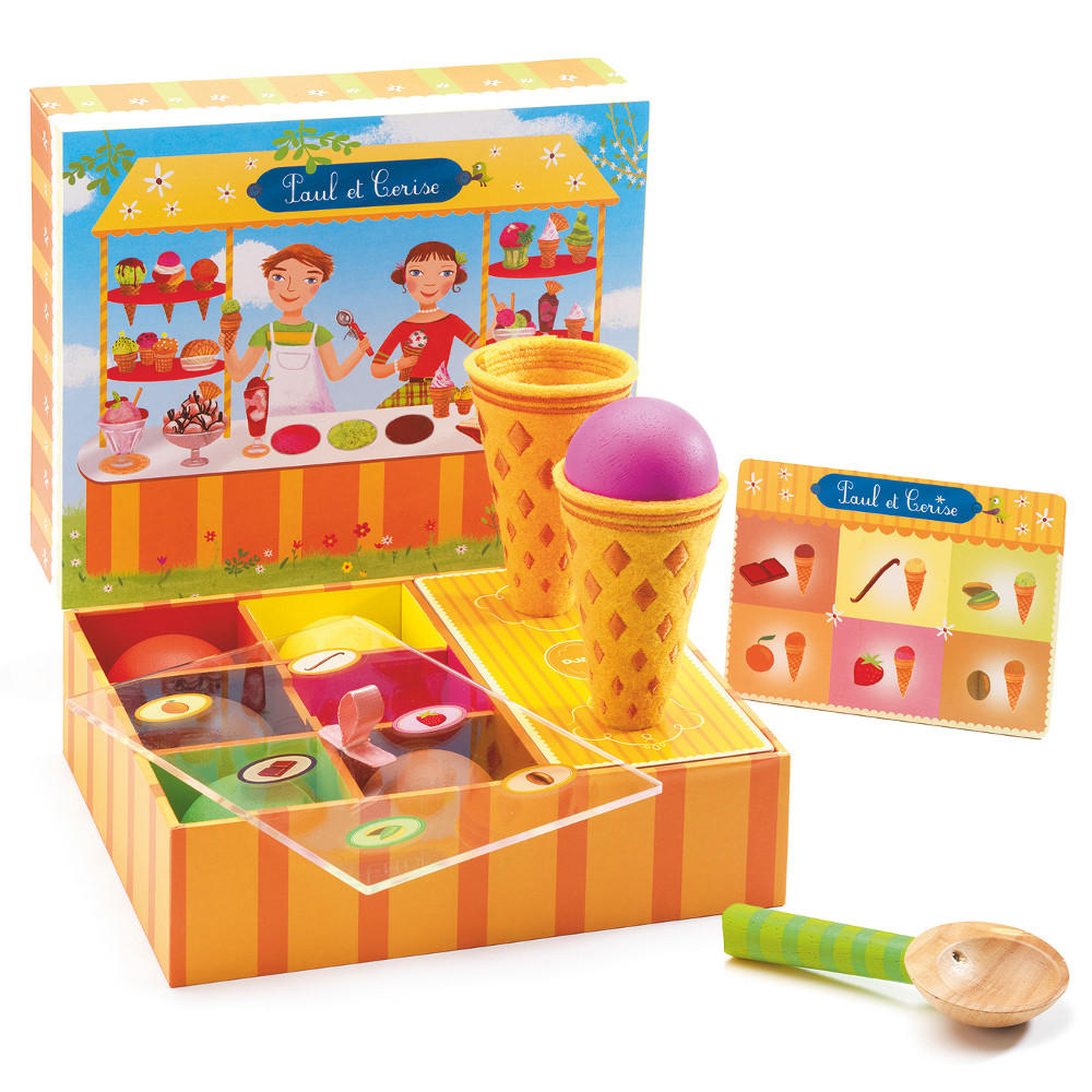 Ice cream shop playset by Djeco