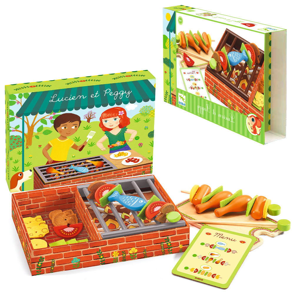 Barbeque wooden playset by Djeco