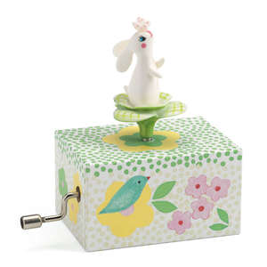 Djeco rabbit in the garden music box