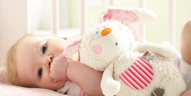 Soft baby toys and comforters