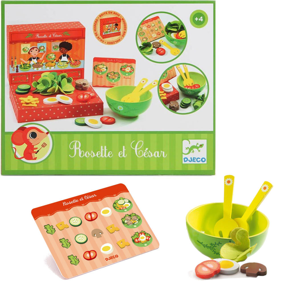 Salad bar shop playset by Djeco