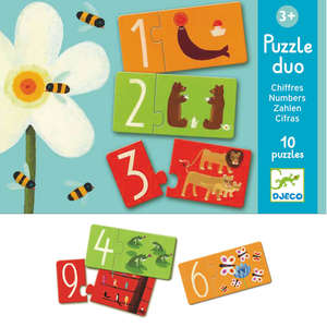 Numbers puzzle duo by Djeco