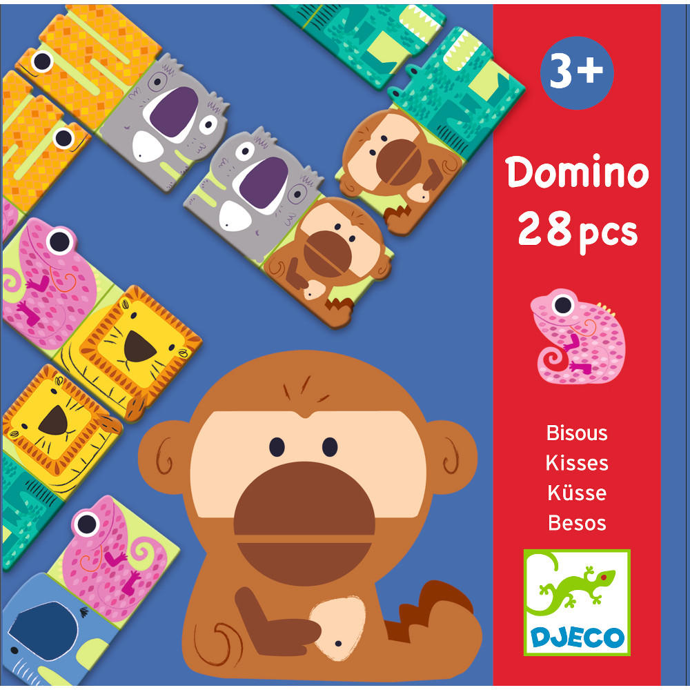 Domino kisses by Djeco