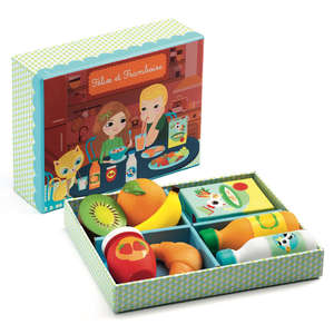 Djeco felix & framboise breakfast set