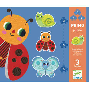 Djeco in the garden primo puzzles