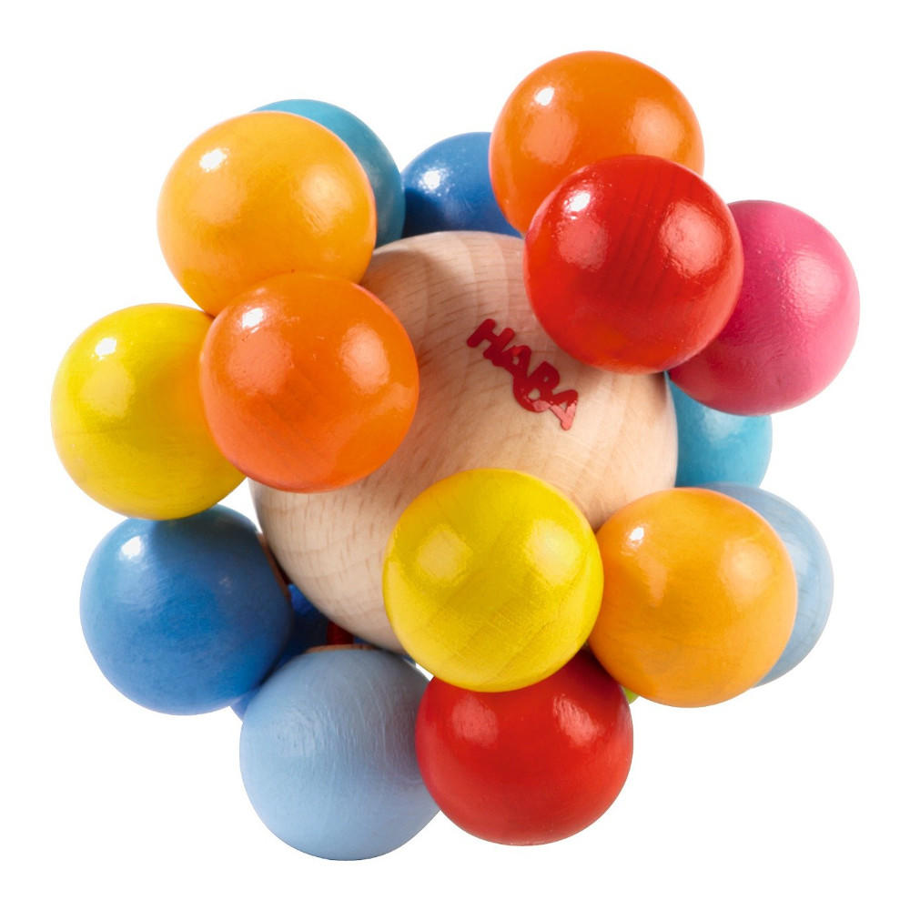 Haba colour hedgehog clutching toy