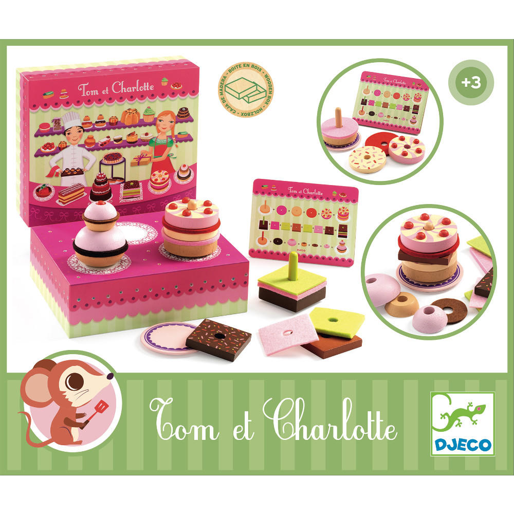 Tom and Charlotte's patisserie by Djeco