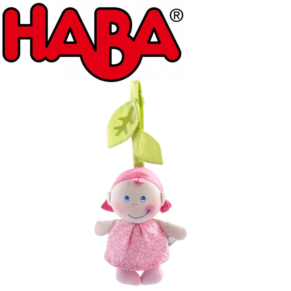 Pure nature leafy girl hanging toy by Haba