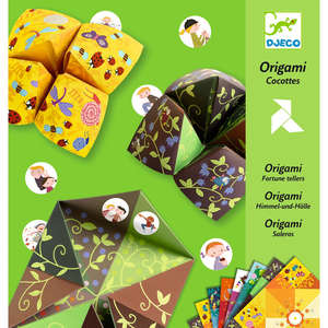 Djeco origami bird game