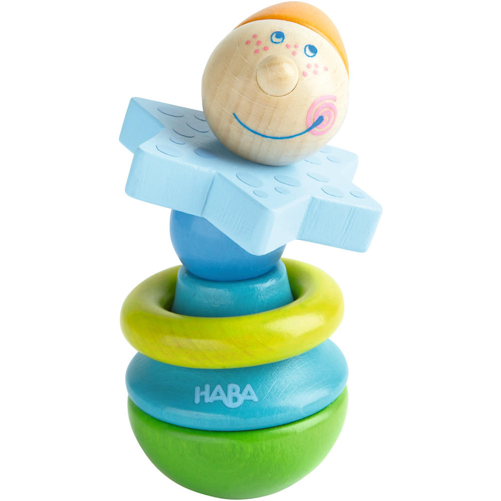 Monsieur baby rattle by Haba