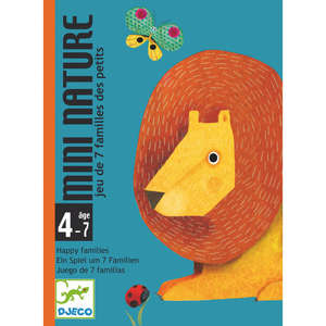 Mini nature card game by Djeco