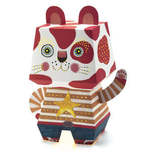 Djeco arty cat paper night light