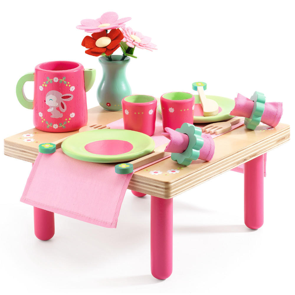 Djeco Lili Rose lunch set