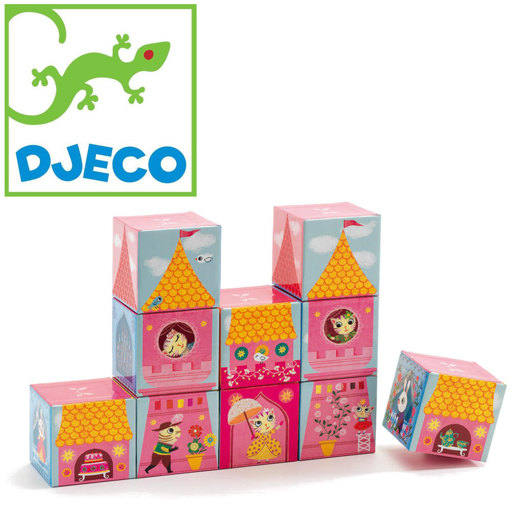 Princess castle blocks by Djeco