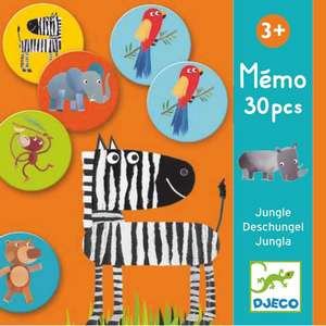 Djeco memo jungle game