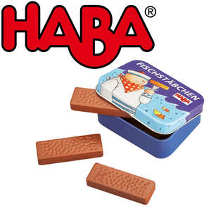 Haba fish fingers in a tin