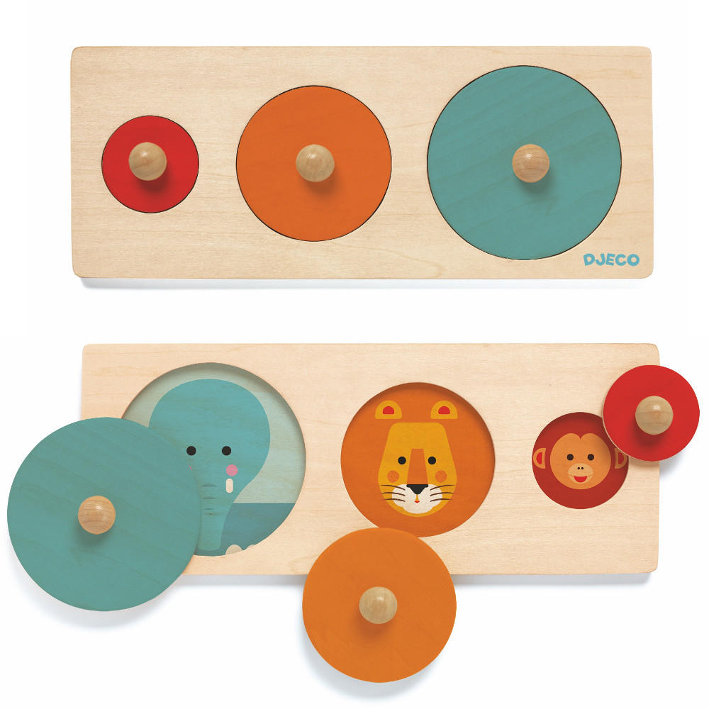 Deco bigabasic wooden puzzle