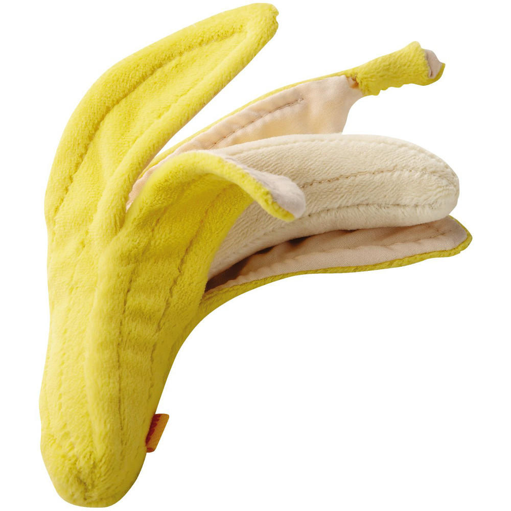 Fabric play food banana by Haba