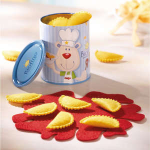 Haba play food ravioli tin