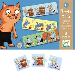 Stories puzzle trio by Djeco
