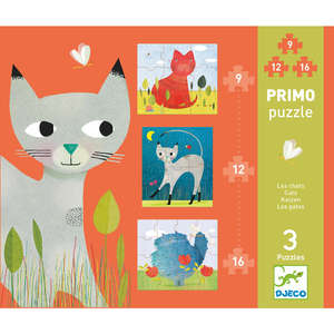 Cats primo puzzle by Djeco