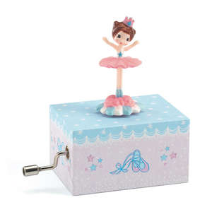 Djeco ballerina on stage music box