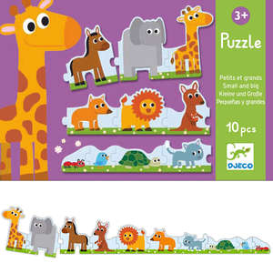 Small and big puzzle by Djeco