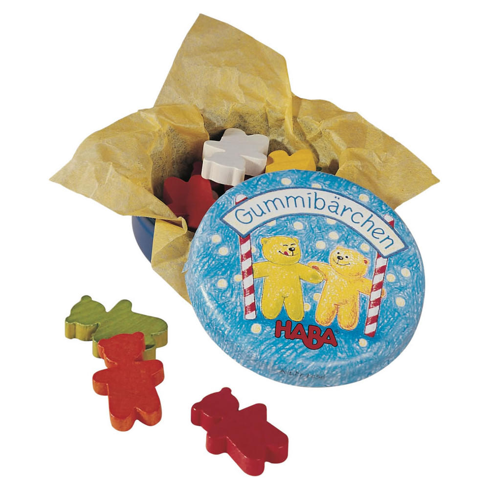 Haba tin of Gummi Bears