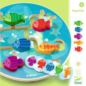 Aquarium maze game by Djeco