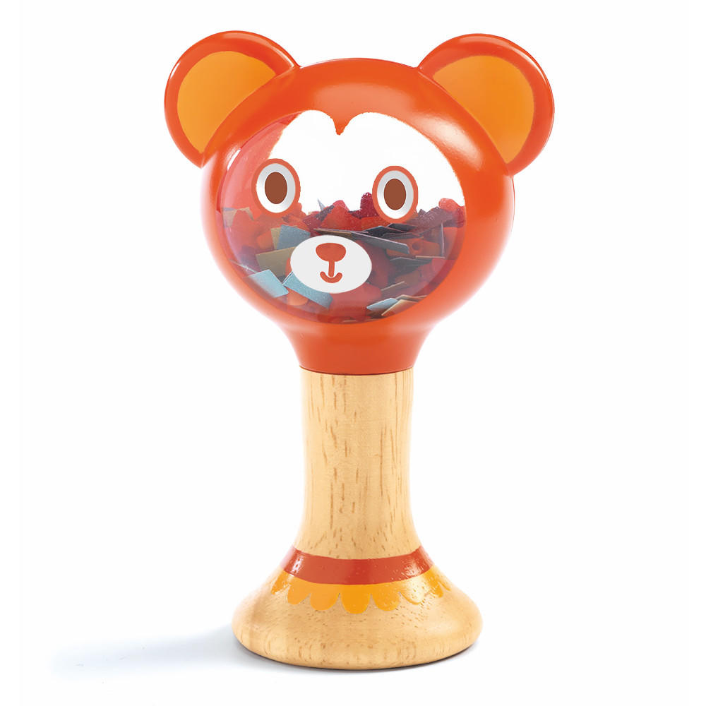 Djeco pititours wooden rattle