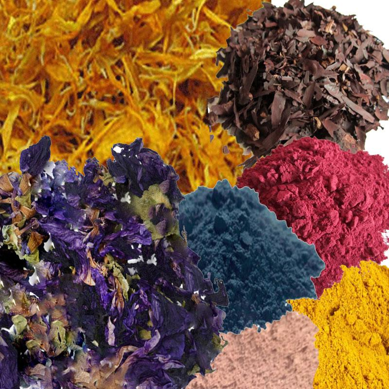 Clays, Colours, Botanicals.