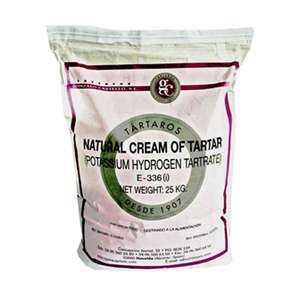 Cream of tartar 25kg