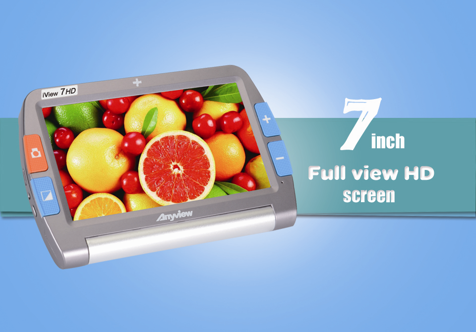 iView 7 handheld video magnifier