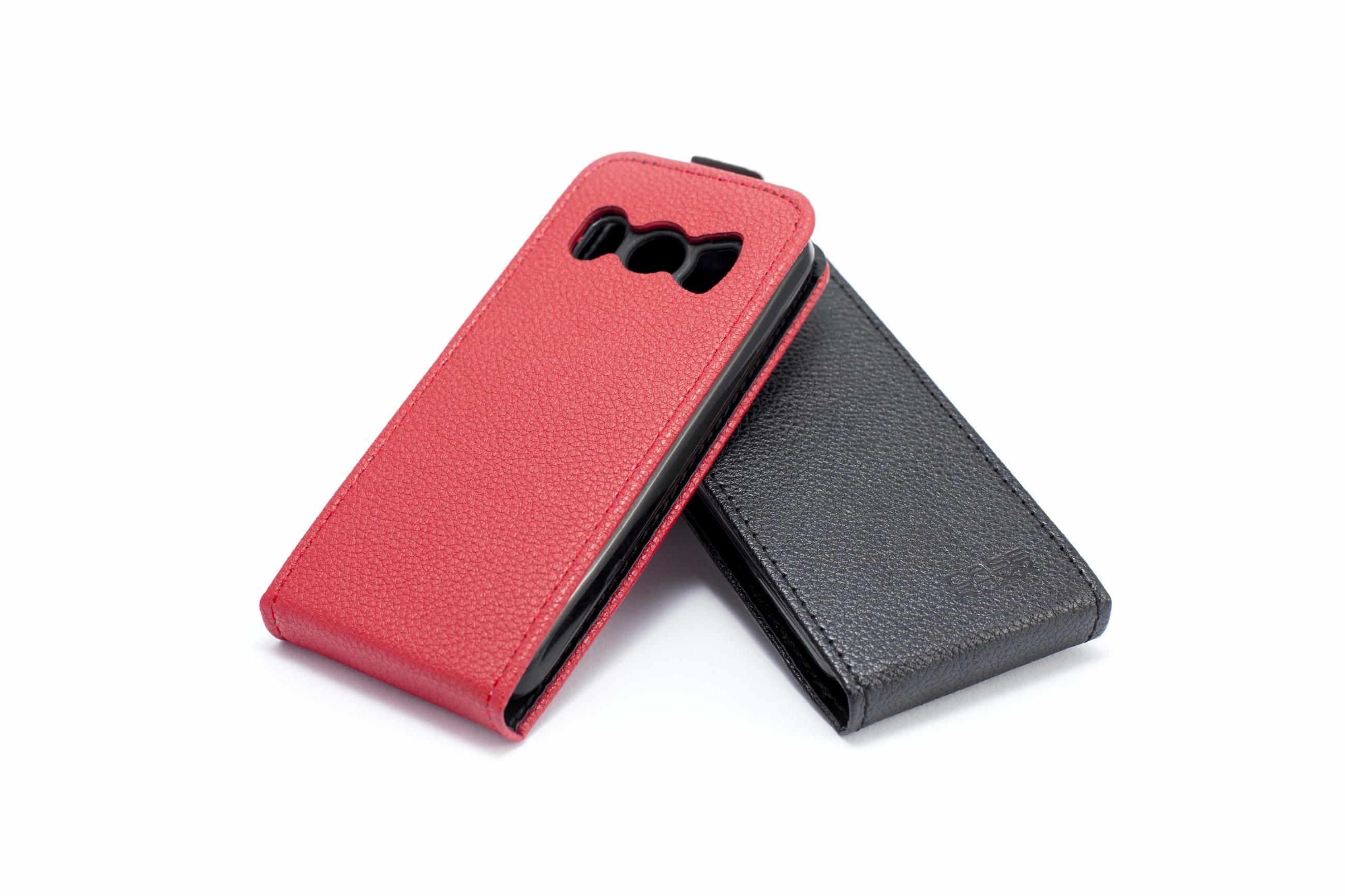 Blindshell Classic and Blindshell Classic LITE - Protective flip case in black and red