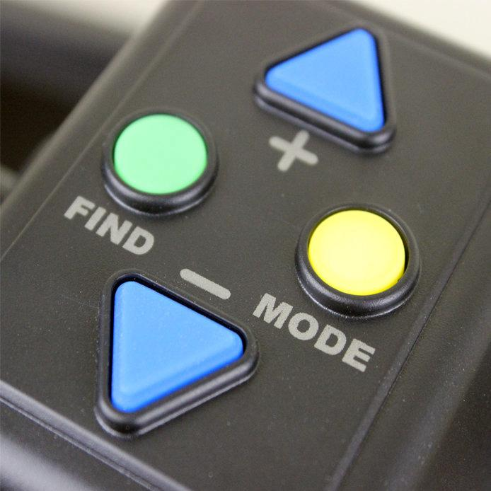 a close up of the digimax controls