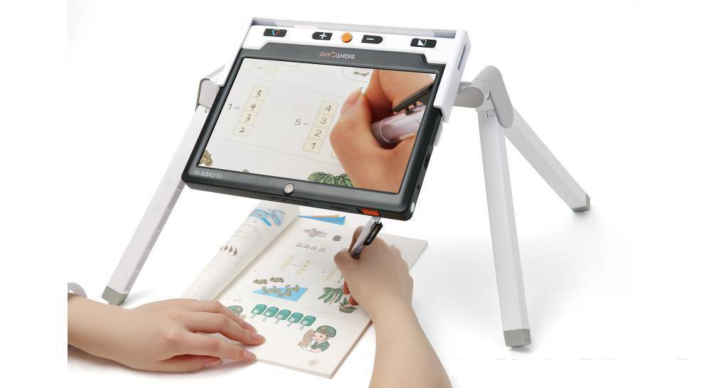 Clover 10 stand, great for moving documents around or writing under